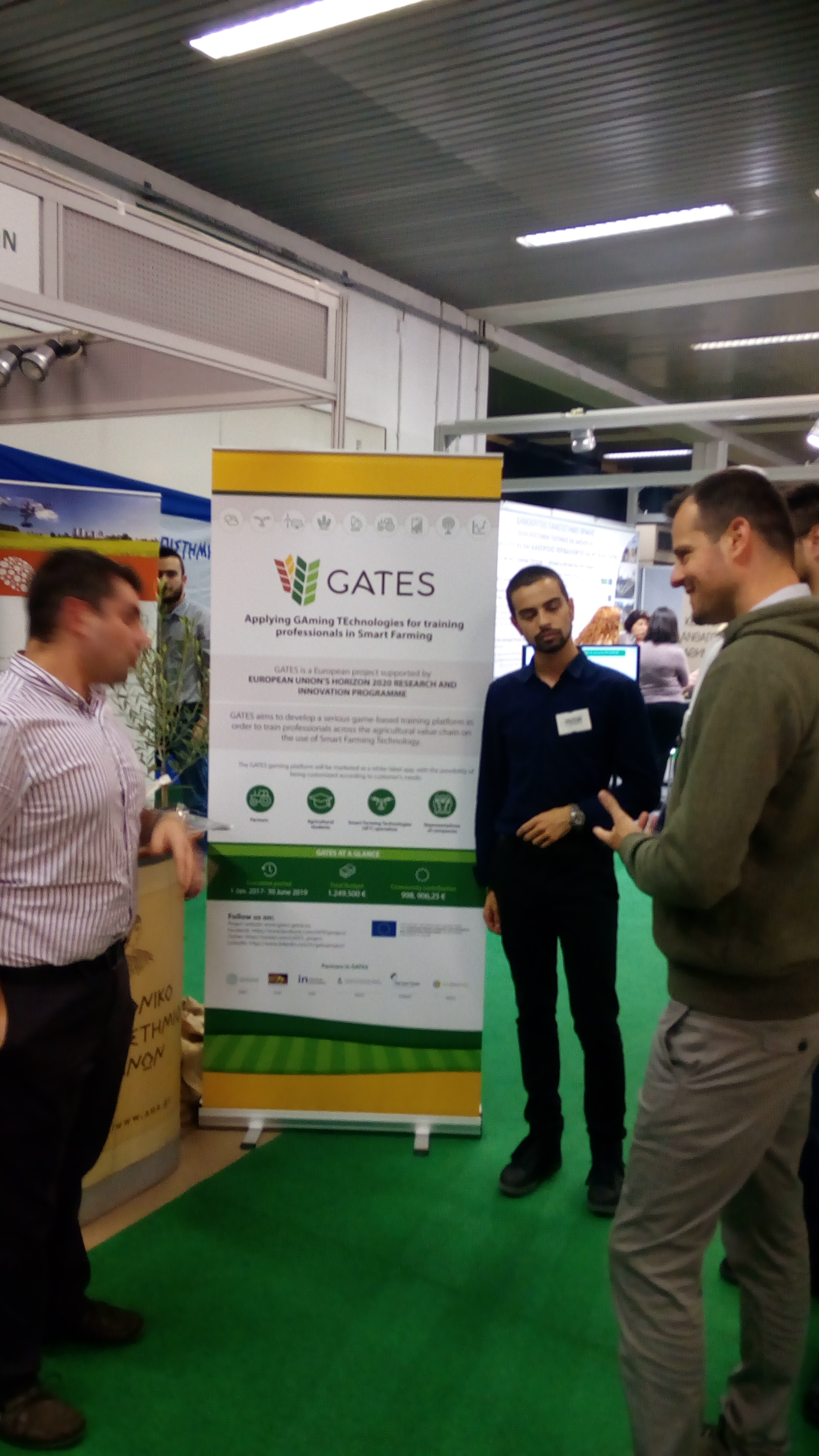 GATES project presentation at AGROTICA, the largest trade fair of the agricultural economy sector in the Balkans and SE Europe