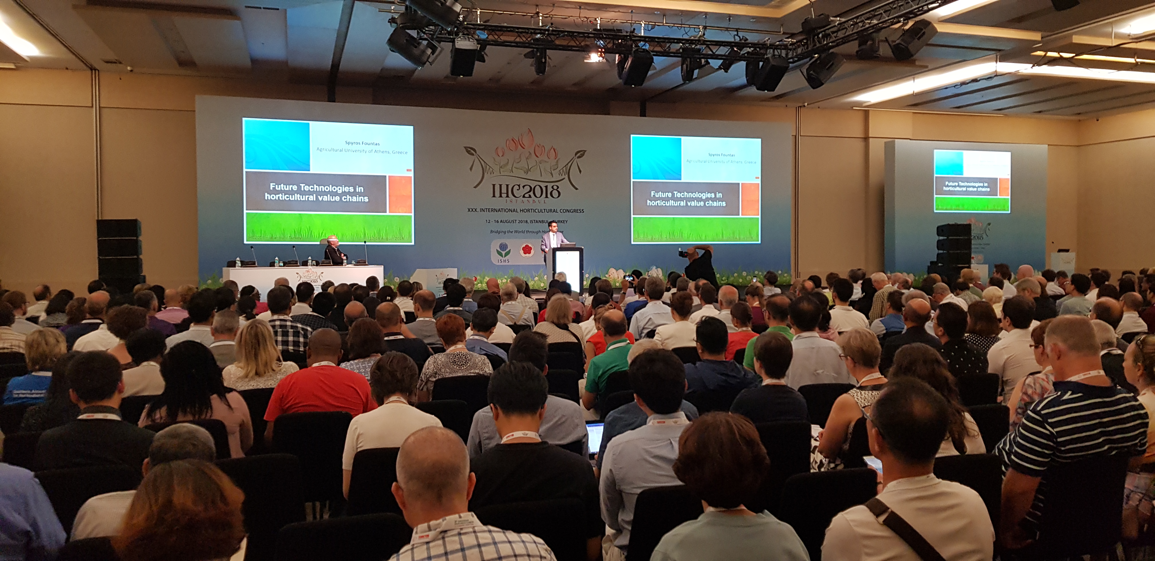 """Gates project at """"The 30th International Horticultural Congress (IHC2018)"""""""