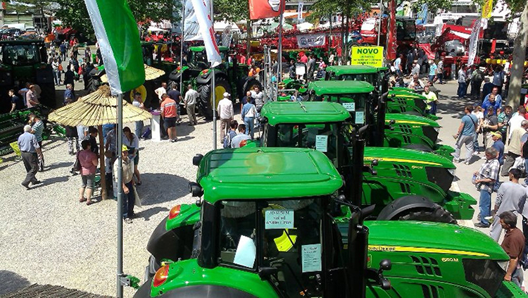 International Agricultural Fair in Novi Sad. May 2017