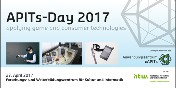 "Mad about Pandas participates at ""APITs Day – Applying GAMES and CONSUMER TECHNOLOGIES"""