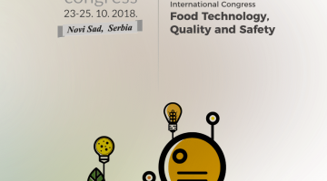 4th International Congress ''Food Quality, Technology and Safety""